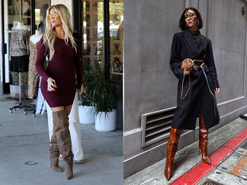 Сапоги с широким голенищем: как выбрать и с чем носить модные сапоги 2020 года