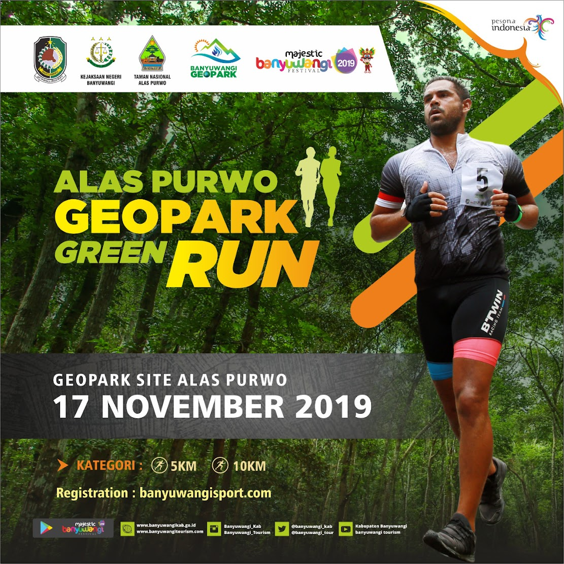 Alas Purwo Geopark Green Run • 2019