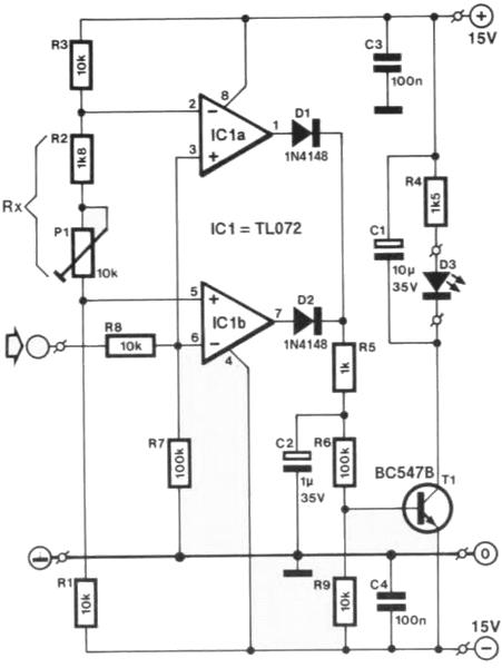 network voltage indicator