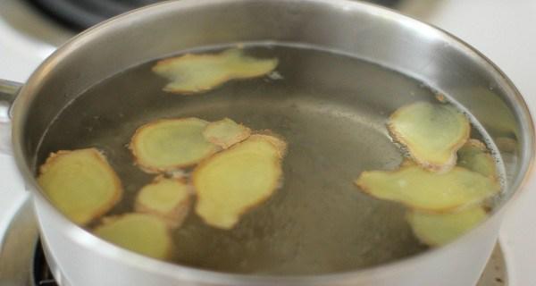 L'eau de gingembre - Recette pour perdre du poids, brûler la graisse à la taille, les hanches et les cuisses