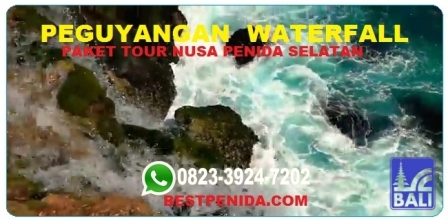 Peguyangan Waterfall