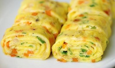 Omelete Gulung Korea