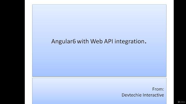 Practical Angular2 and above Integration With Web API