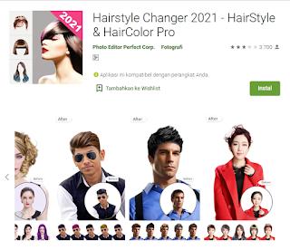 Aplikasi Rambut Gondrong 2021, Salah satu cara merubah rambut jadi panjang