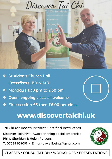 Poster for Tai Chi at Crossflatts, Bingley