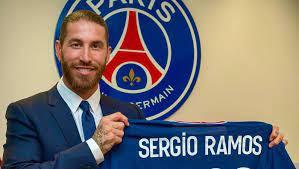 Perkenalan Ramos di PSG