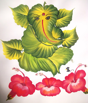 Leaf-Ganesha-Lord