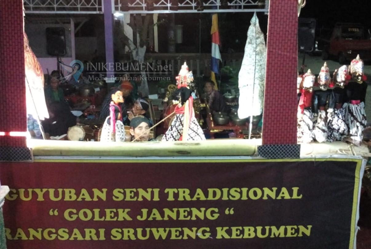 Keren! Wayang Golek Janeng Meriahkan Hari Jadi ke-390 Kabupaten Kebumen di Sruweng