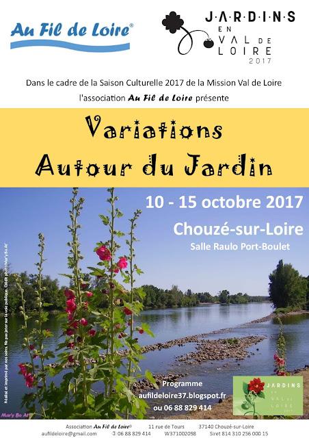 L'Association Au Fil de Loire participe à la Saison culturelle Jardins en Val de Loire de la Mission Val de Loire