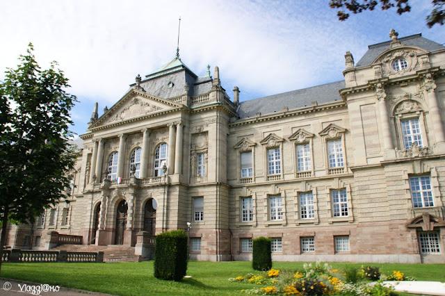 Il bell'edificio della Corte d'Appello di Colmar