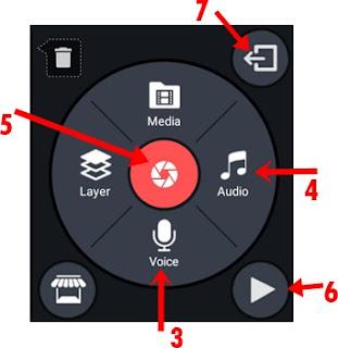 kinemaster video editer tools info