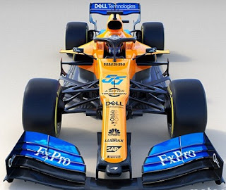 McLaren: MCL34 new car for 2019 Formula 1 season.