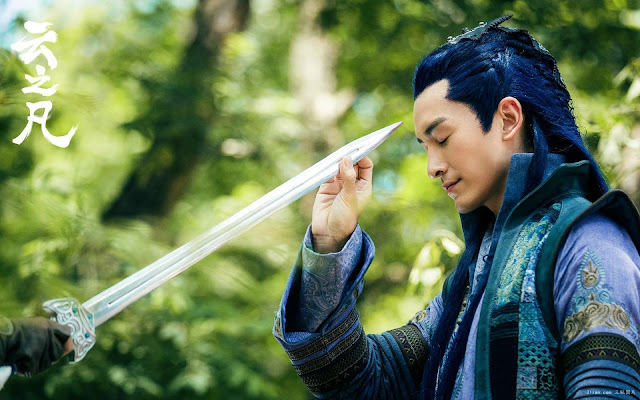 Taiwanese actor Joe Cheng in 2016 Chinese martial arts drama Yun Zhi Fan (Chinese Paladin 5)