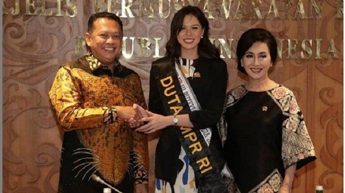 Puteri Indonesia yang Nggak Hafal Pancasila Itu Diangkat Jadi Duta MPR RI