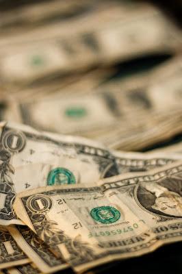 a bunch of one dollar bills U.S currency