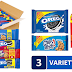 Cookies Sale! 3 Family Size Packs of Oreo, Ritz and Chips Ahoy $7.91 or $6.65, 12 King Size Packs of Oreos/Nutter Butter/Chips Ahoy $9.11 or $7.731