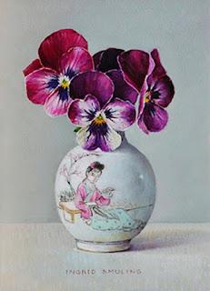 cuadros-frutas-flores-conjunto-realista