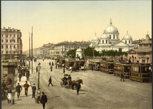 St Petersburg Source Telegraphcouk Travel Destinations Europe Russia Galleries First Colour Photographs Of Russia11