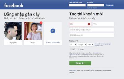 Cách đăng nhập Facebook bằng Gmail như thế nào?