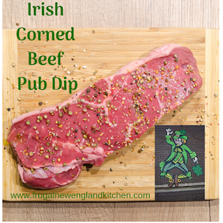 Irish Pub Corned Beef Dip Appetizer Spread Recipe