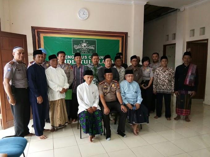 Kapolres Depok Kunjungi Kantor PC NU