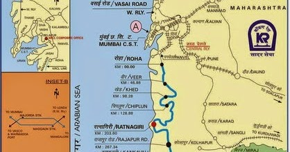 Konkan Railway Map Konkan Railway Map | Konkankatta.in Konkan Railway Map