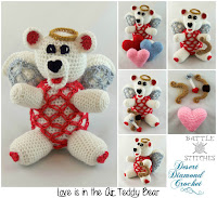 http://www.ravelry.com/patterns/library/100-love-is-in-the-air-teddy-bear
