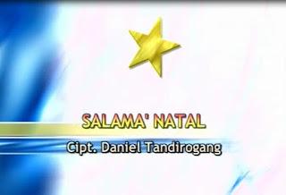 Lirik Lagu Salama' Natalku (Daniel Tandirogang)