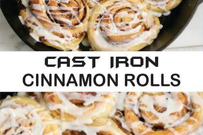 CAST IRON CINNAMON ROLLS