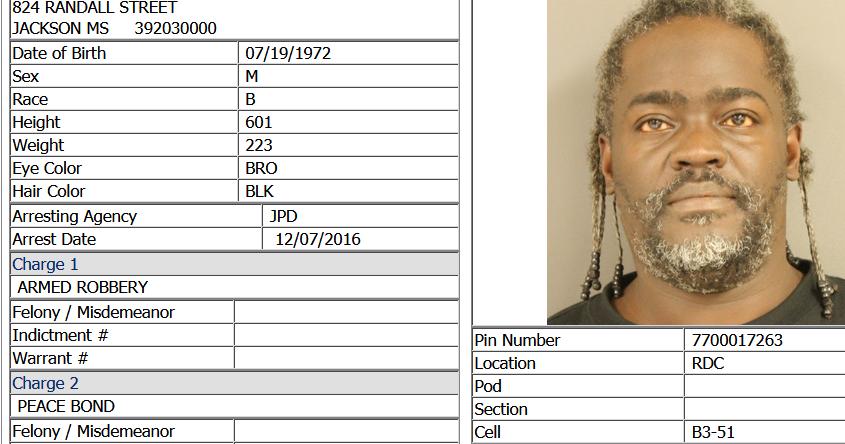 Jackson Jambalaya: Thug Goes Free, Again