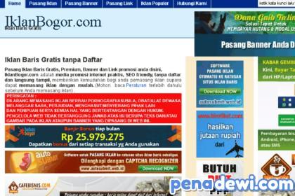 Kumpulan Situs Pasang Iklan Baris Gratis Online Tanpa Daftar