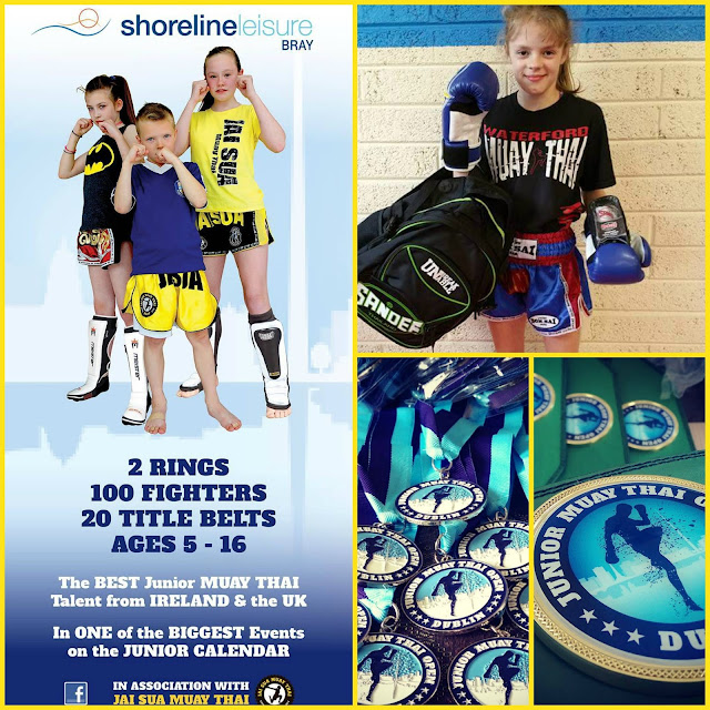 Irish Muay thai Bray Juniors kids