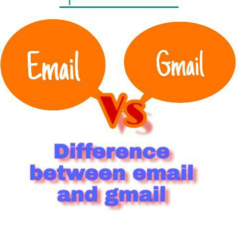 Difference between email and gmail in hindi? Email और gmail में अन्तर क्या है?