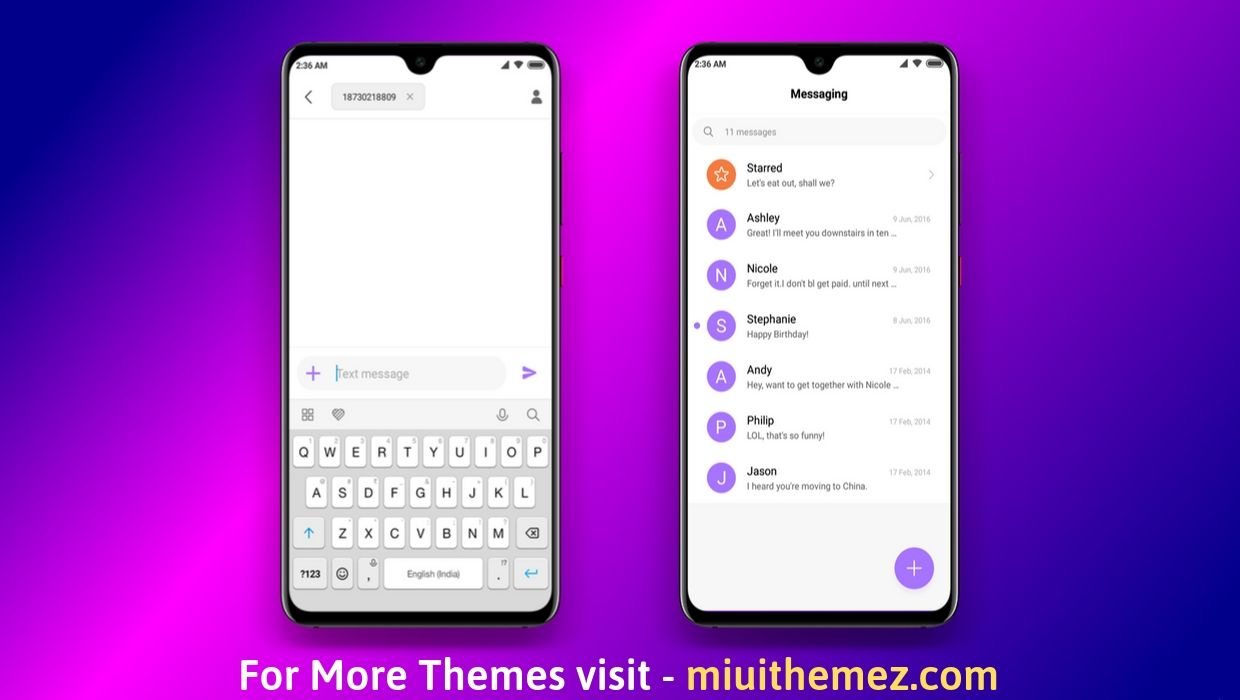 Download Switch MIUI 10 Theme