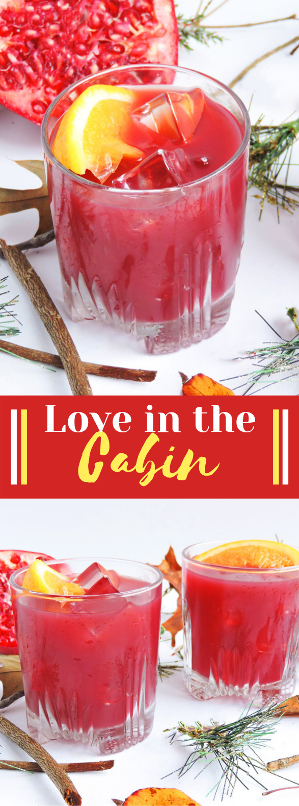 Love in the Cabin Cocktail #drinks #christmas