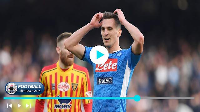 Napoli vs Lecce – Highlights