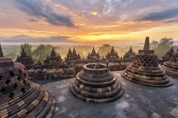 Wisata Jawa Tengah Candi Borobudur