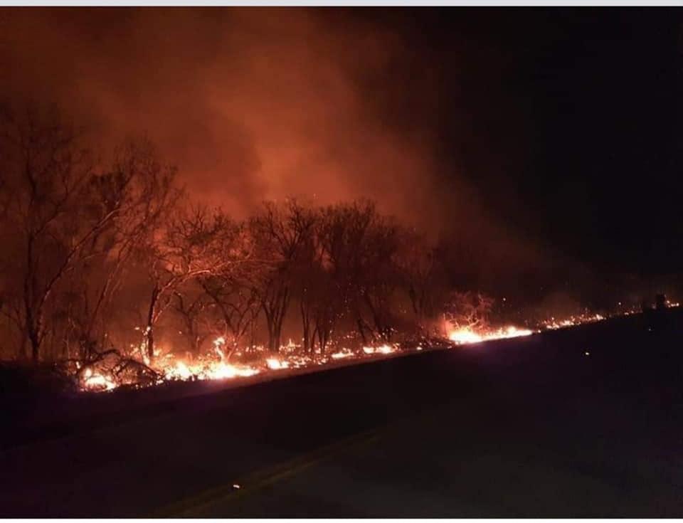 Todavía existen focos de calor en cinco municipios de Santa Cruz tras 11 días de fuego / RRSS