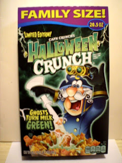 Front of Halloween Crunch 2021 Box