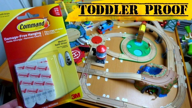 Growing Little Ones : How To Toddler Proof Wooden Thomas the Train ...