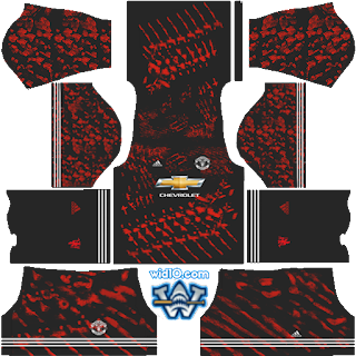 Manchester United- Dream League Soccer and FTS Fantasy Kits Logo Url (DLS18 & FTS)