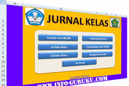 Aplikasi Jurnal Kelas Versi 2 lengkap dengan Panduannya