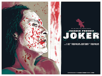 "Joker ""You Get What You Fucking Deserve"" Movie Poster Screen Print by Joshua Budich"