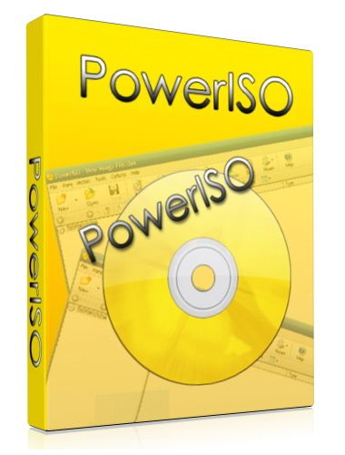 PowerISO 7.6 poster box cover