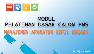 modul latsar cpns manajemen asn