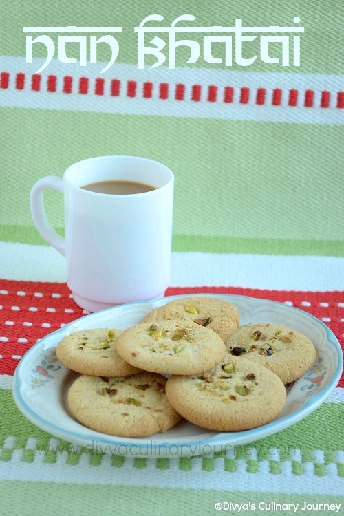 Indian Shortbread Cookies