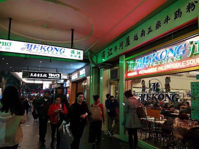 【墨尔本美食】墨尔本亲子游@Day8 Dinner 湄江牛河屋 Mekong Vietnam| 澳洲墨尔本必吃越南河粉