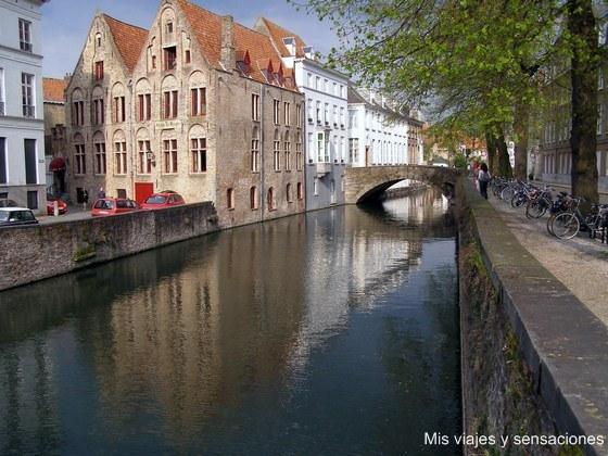 Canales de Brujas, Bélgica