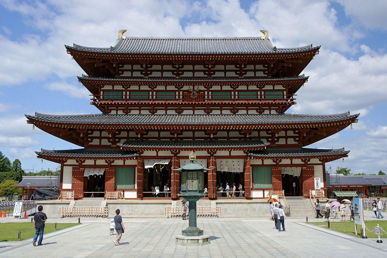 奈良-景點-推薦-藥師寺-Yakushiji Temple-市區-自由行-必玩-必遊-必去-旅遊-觀光-日本-Nara-Tourist-Attraction