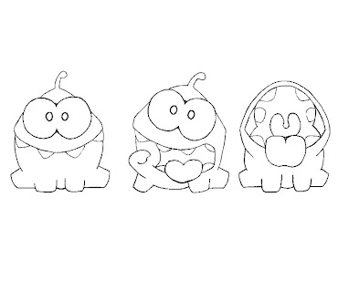 3 Cut The Rope Coloring Page